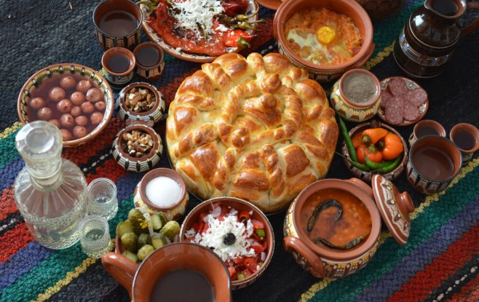 dishes from the Balkan Cuisine