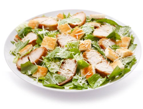 How to Make Chicken Caesar Salad Wraps?