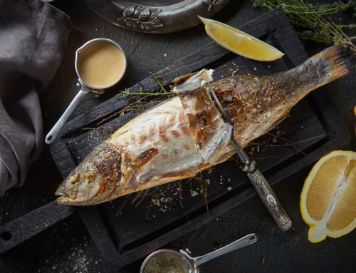 How to Make and Serve Grilled Branzino With Lemon and Herbs